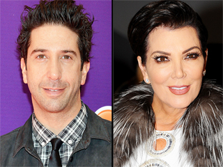 David Schwimmer Turns to Kris Jenner for Advice on Playing Her Ex-Husband