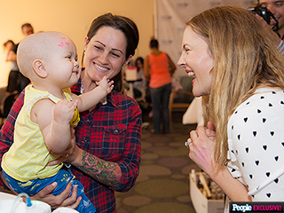 Drew Barrymore Honors 'Hero' Moms With Mother's Day Event at Children's Hospital