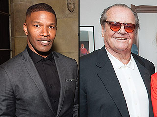 What Do Jamie Foxx and Jack Nicholson Do When They Get Together? Take Selfies of Course! | Jack Nicholson, Jamie Foxx