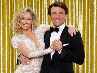 Dancing with the Stars Duo Robert Herjavec & Kym Johnson Caught Kissing in Palm Springs (PHOTO)