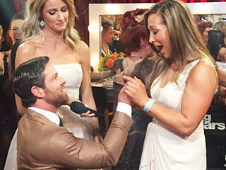 Noah Galloway's DWTS Castmates React to His Live Proposal