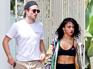 Fiancé Goals and Ab Goals: FKA Twigs Steps Out with Robert Pattinson – See Her Six-Pack!