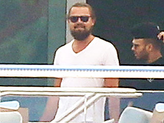 Leonardo DiCaprio Parties on a Yacht in Cannes – Because We Would Expect Nothing Less