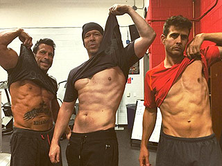The Right Stuff! NKOTB Show Off Their Rock-Hard Abs in Drool-Worthy New Photo