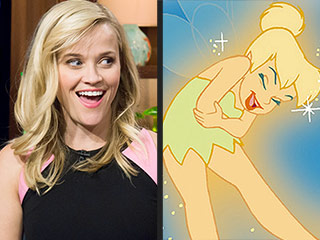 Reese Witherspoon to Play Tinker Bell in Live-Action Disney Movie
