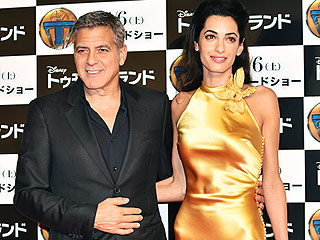 PHOTO: Amal Clooney Shines at the Tokyo Premiere of George's New Film