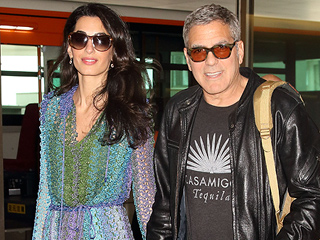 George and Amal Clooney Dance It Up at U2 Concert with Cindy Crawford and Rande Gerber