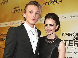 Lily Collins and Jamie Campbell Bower Fuel Reconciliation Rumors with Adorable PDA Pics