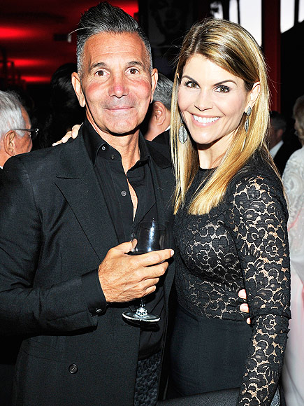 Lori Loughlin with husband