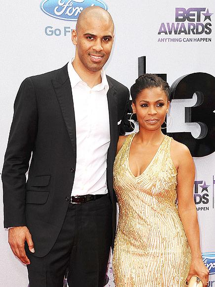 Nia with her fiance Ime Udoka