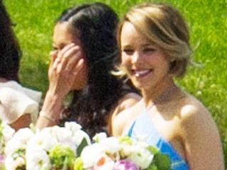 Rachel McAdams Tears Up as She Plays Bridesmaid for Sister Kayleen