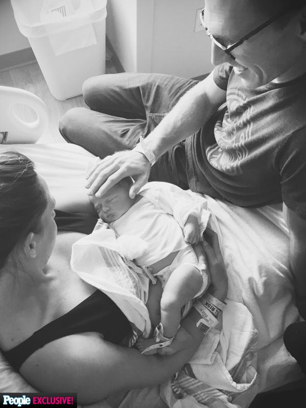 Kim Spradlin Wolfe with Baby