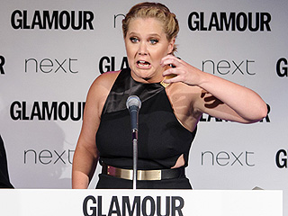 Amy Schumer Gets Candid in NSFW Glamour Awards Acceptance Speech: 'I'm Not Going to Apologize for Who I Am'