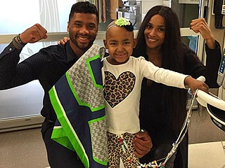 Ciara and Russell Wilson Visit Seattle Children's Hospital: See the Pictures