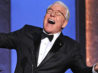 Steve Martin Jokes About the Secret to 'Comic Genius' While Receiving AFI Life Achievement Award