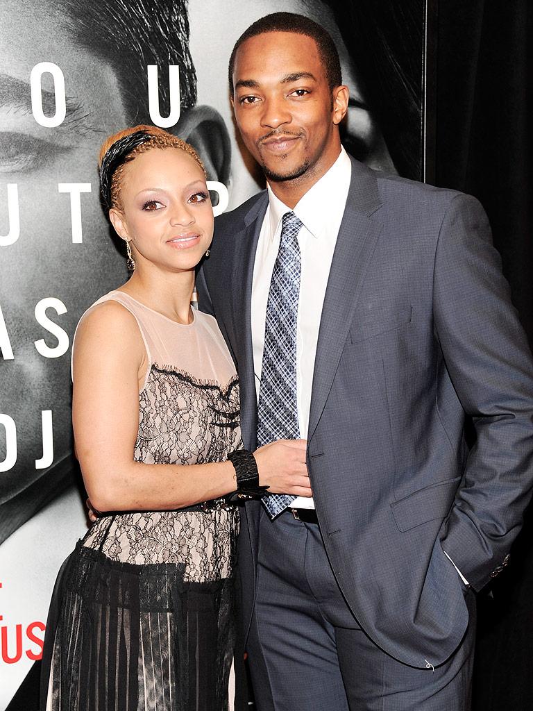 Anthony Mackie Marries Childhood Sweetheart Sheletta Chapital : People.com