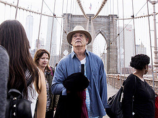 Bill Murray Leads March of Poets Across the Brooklyn Bridge for Special Poetry Walk: VIDEO