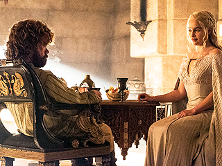 FROM EW: Game of Thrones' Peter Dinklage and Emilia Clarke on Being TV's New Power Couple