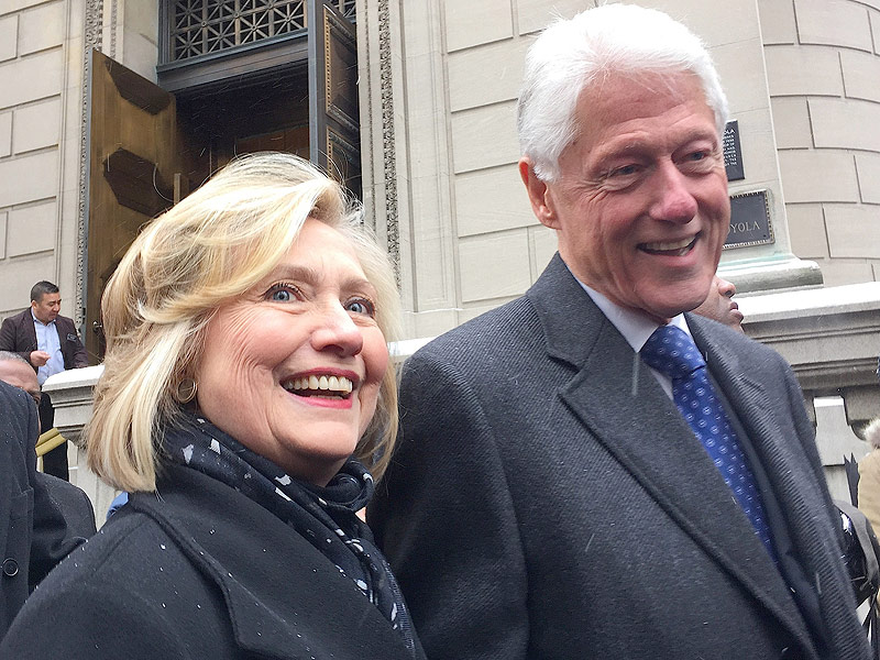 Hillary Clinton Outlines What Bill's Role Would Be as First Gentleman