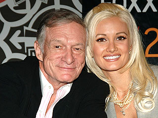 Hef Hits Back at Holly: Playboy Mogul Says Ex-Girlfriend Madison Is Trying to 'Rewrite History'