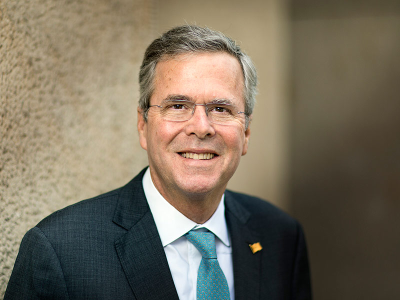 Jeb Bush earned a  million dollar salary - leaving the net worth at 10 million in 2017