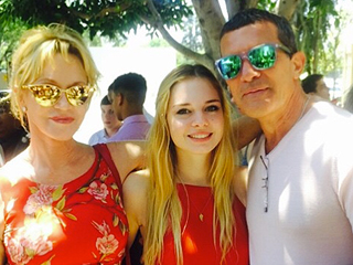 PHOTOS: Melanie Griffith and Ex Antonio Banderas Reunite for Daughter Stella's Graduation