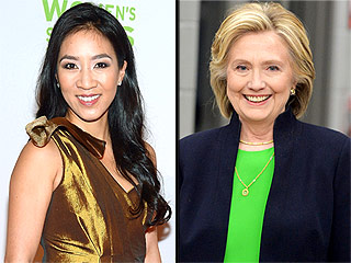 Michelle Kwan Has Joined Hillary Clinton's Campaign for President