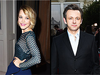 Friendly Exes Rachel McAdams and Michael Sheen Reunite at L.A. Comic Book Shop
