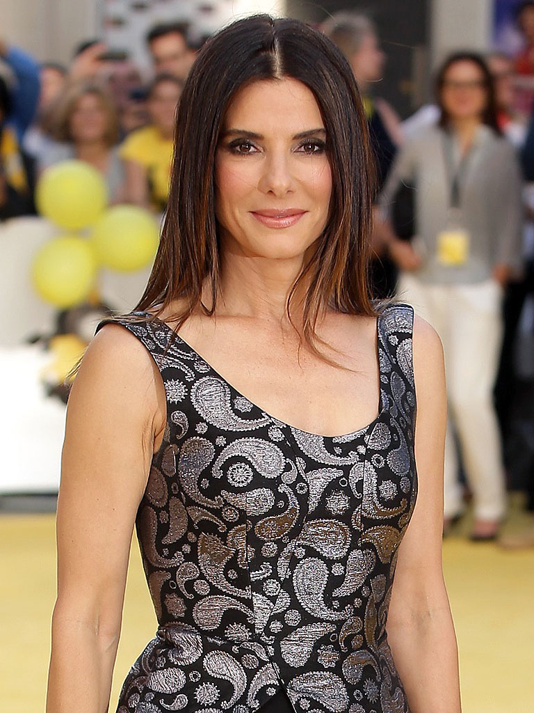 Sandra Bullock at the world Sandra Bullock