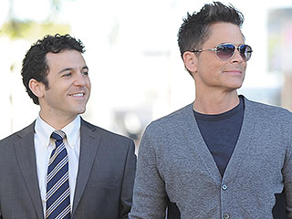 The Grinder's Fred Savage: Costar Rob Lowe Is 'Chiseled from Granite'
