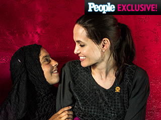 Angelina – and Shiloh! – Bond with a 12-Year-Old Refugee in Lebanon