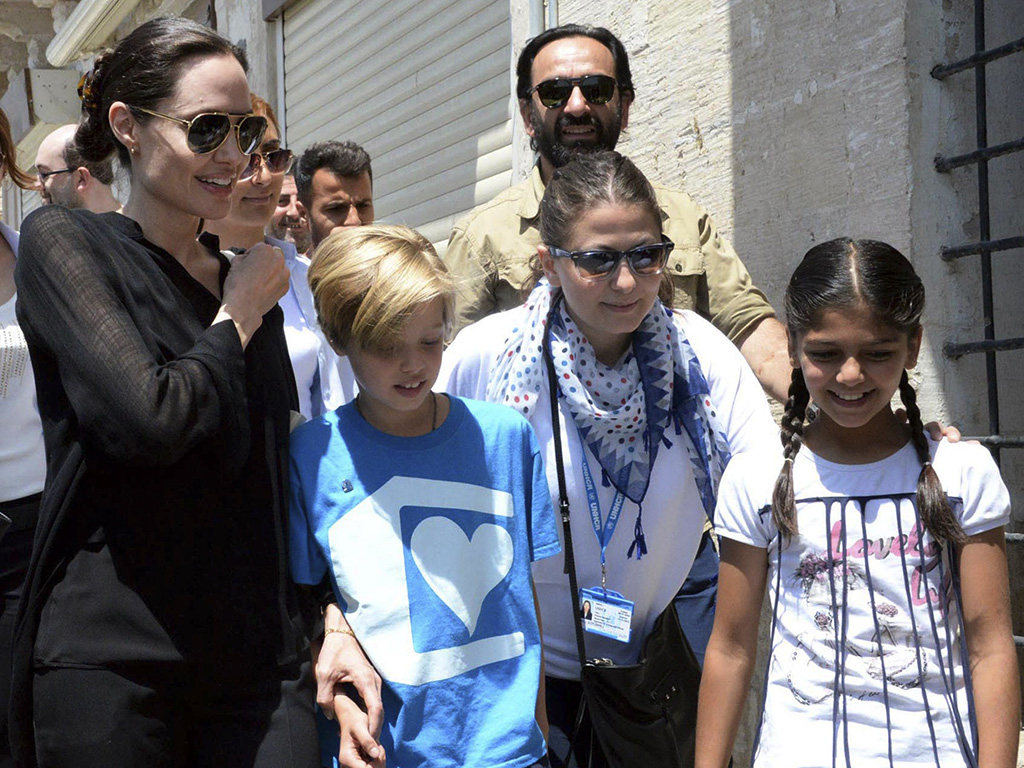 Angelina Jolie Pitt Visits Refugees in Turkey with Shiloh: We Cannot Ignore the 'Worst Refugee Crisis Ever Recorded'| Angelina Jolie