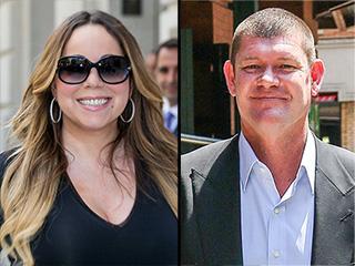 Mariah Carey Walks Hand-in-Hand with Australian Billionaire James Packer in Capri