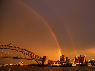Sydney's Double Rainbow Is a Double Wow (SEE PHOTOS)