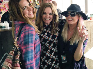 So Spicy! Mel C, Geri and Emma Hold Mini Reunion at Music Festival (PHOTOS)
