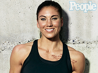 A Troubled Star's Softer Side: At Home with Hope Solo