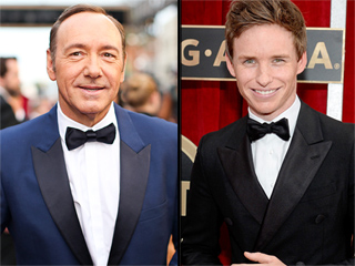 Kevin Spacey and Eddie Redmayne Receive Huge Honors from the Queen