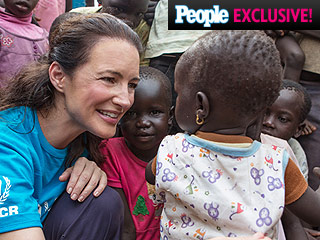 Kristin Davis Visits South Sudanese Refugees: 'I Couldn't Believe How Many Children There Were' | Kristin Davis