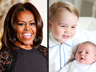 Prince George Gets an All-American Red Wagon – from First Lady Michelle Obama!