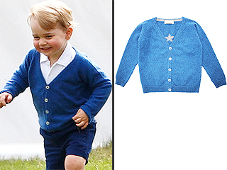 Prince George's $100 Olivier Baby Cardigan Sells Out 'Overnight'