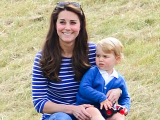 Prince George Swaps Knee Socks for $30 Crocs to Watch His Dad Play Polo (PHOTOS)
