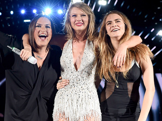 Mariska Hargitay and Cara Delevingne Are the Latest 'Bad Blood' Stars to Join Taylor Swift on Tour