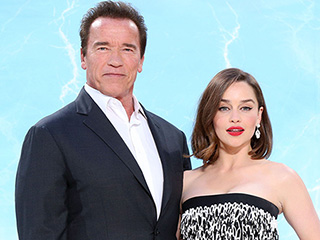 Emilia Clarke and Arnold Schwarzenegger Open Up About Terminator Nude Scenes: They're 'Embarrassing, But Fun'