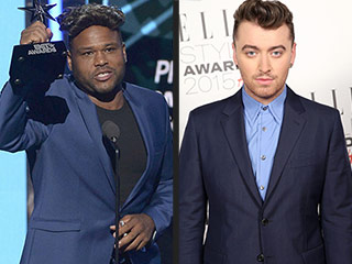Sam Smith Wins BET Award, Host Anthony Anderson Jokes He Didn't Show Up 'Because He's White'