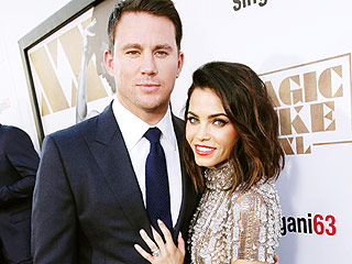 Channing Tatum and Jenna Dewan-Tatum Embody #RelationshipGoals at the Magic Mike XXL Premiere: See the Cute Pics
