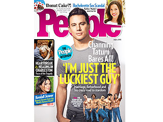 Sexy, Sweet, Stripperific! Channing on Marriage, Fatherhood and His Wild Ride to Fame