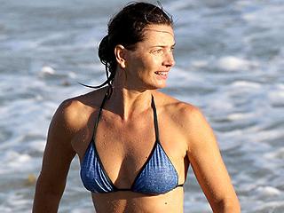 She's 50! Paulina Porizkova Flaunts Supermodel Figure During St. Barts Getaway