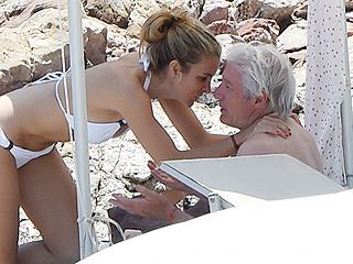 Richard Gere Goes Public with New Spanish Girlfriend