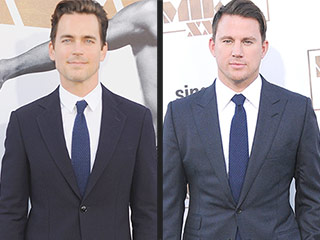 Matt Bomer's Reaction to Channing Tatum's Bromantic Compliments: 'I Blushed'
