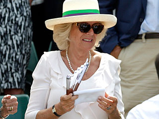 Camilla Is Giving Up Her Wimbledon Wristband from Andy Murray – but It's for a Good Cause